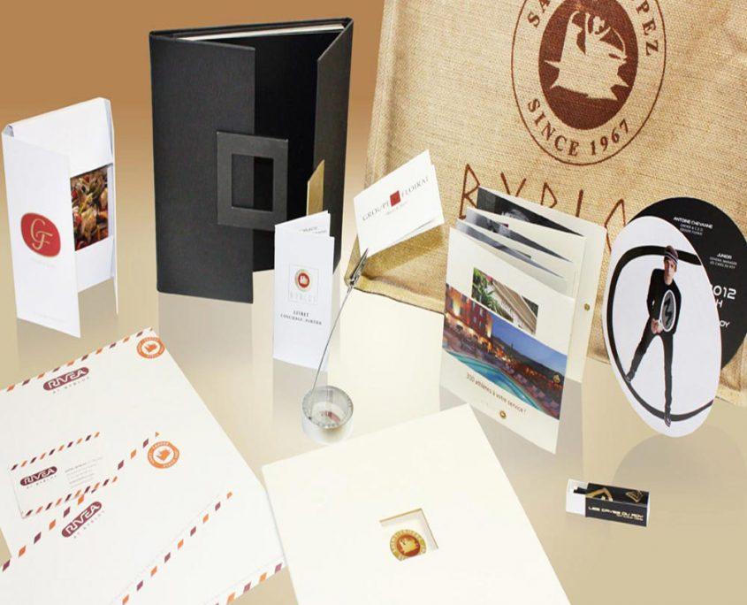 Création d'une identité visuelle, charte graphique, devis gratuit - Hervé Roux, Infographiste Print & Web en Vendée, Pays de La Loire, France