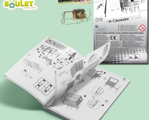 Création notice de montage, devis gratuit - Hervé Roux, Infographiste Print & Web en Vendée, Pays de La Loire