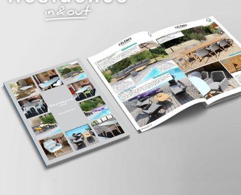 Catalogue produits Residence, devis gratuit - Hervé Roux, Infographiste Freelance en Vendée