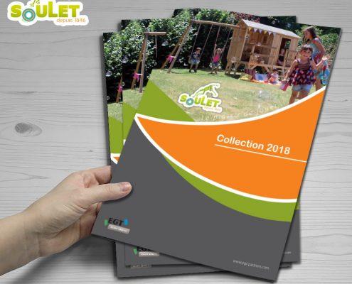 Catalogue produits Soulet, devis gratuit - Hervé Roux, Infographiste Freelance en Vendée