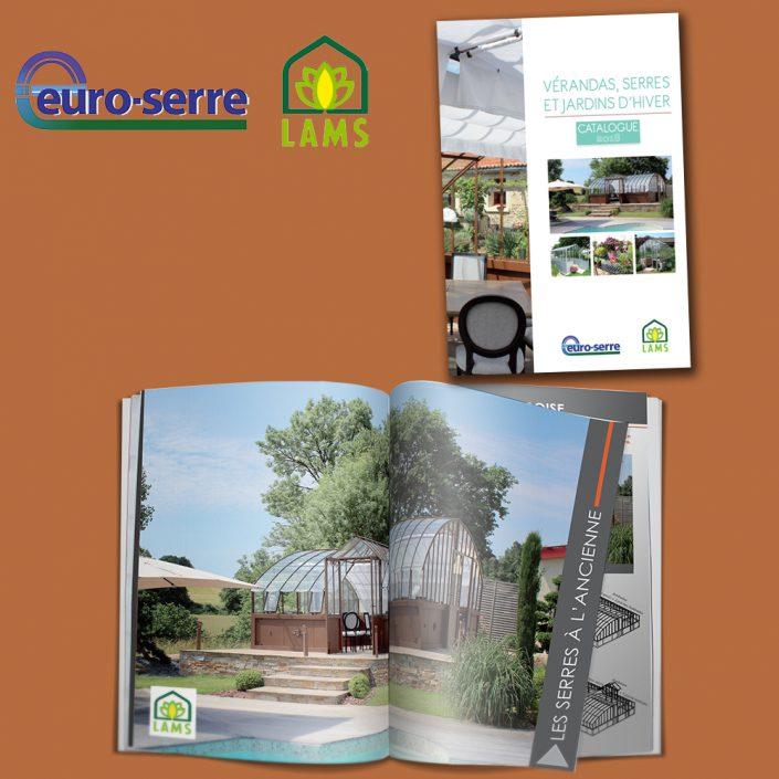Catalogue produits vérandas, serres, jardin d'hiver - Hervé Roux, Infographiste Freelance en Vendée
