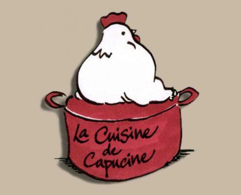 Création d'un dépliant 2 volets pour des cours de cuisine pas cher - Hervé Roux, Infographiste Print & Web en Vendée