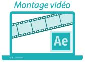 Montage vidéo, création d'images animées et animation avec After Effects - Hervé Roux, Graphiste Freelance en Vendée, Pays de La Loire, France